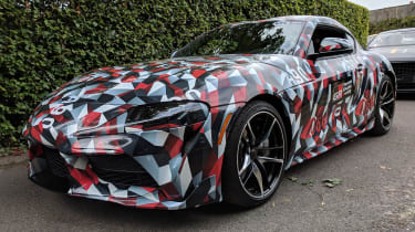 New Toyota Supra front