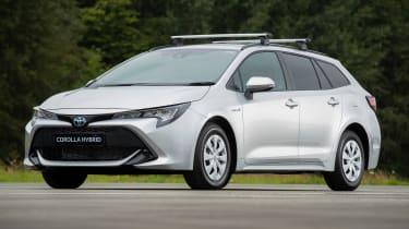 Toyota Corolla Commercial hybrid van