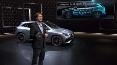 Mercedes EQA - GLA reveal