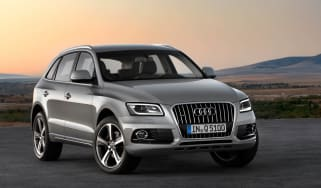 Audi Q5 facelift front static