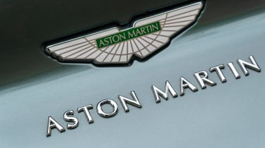 Aston Martin DB11 AMR - Aston Martin badge