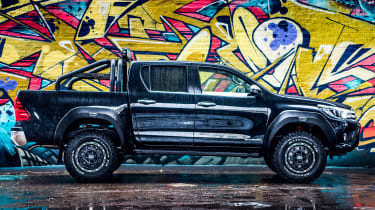 Toyota Hilux Invincible 50 Limited Edition - side profile