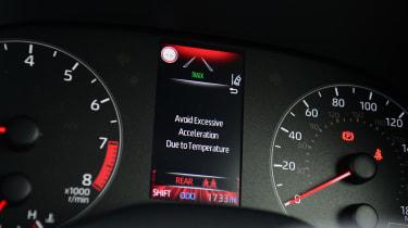 Toyota GR Yaris - dials