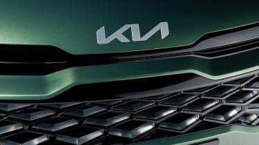 Kia Sportage - Kia badge