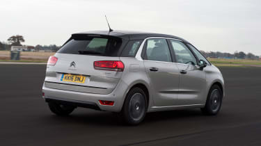 Citroen C4 Picasso long-termer - rear