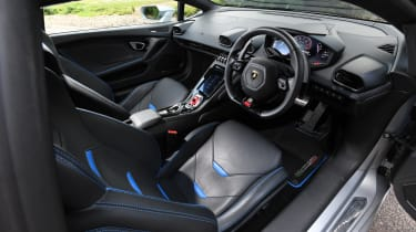 Lamborghini Huracan Evo - interior
