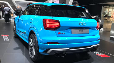 Audi SQ2 - Paris rear