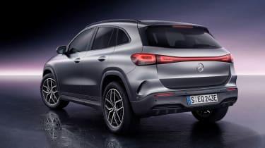 Mercedes EQA - rear studio