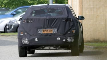 Hyundai Kona EV rear