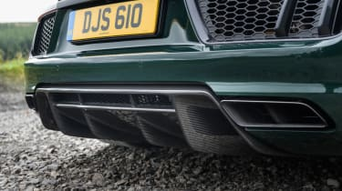 Audi R8 Spyder V10 plus - rear diffuser