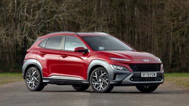 New Hyundai Kona Hybrid 2021 review - front static