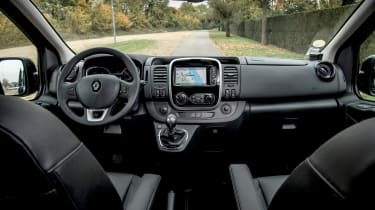 Renault Trafic SpaceClass - interior