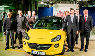 Vauxhall Adam starts official production