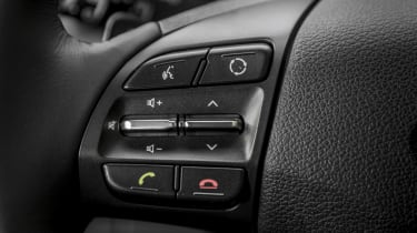 Hyundai i30 Fastback - buttons
