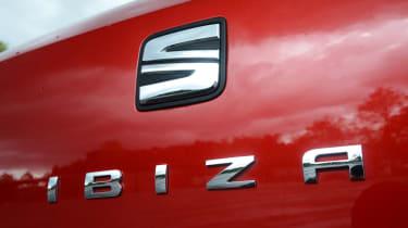 SEAT Ibiza - rear badge