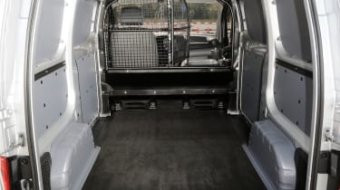 The load bed takes a payload of 739KG.