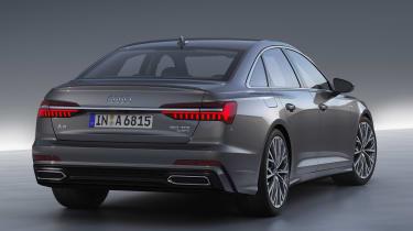 New Audi A6 - studio full rear