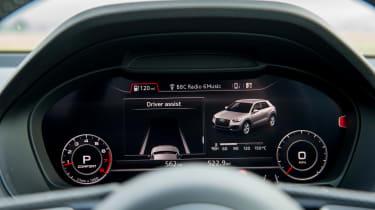 Audi A3 Cabriolet - dials