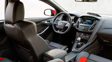 Ford Focus ST diesel interior