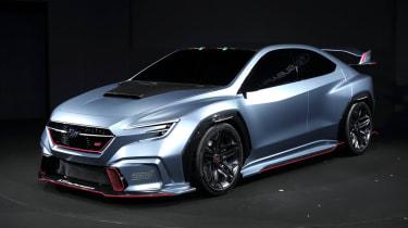 Subaru Viziv Performance STI concept side