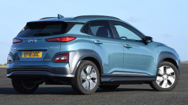 Hyundai Kona Electric - rear static