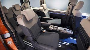 Volkswagen T7 Multivan - seats