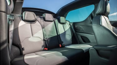 DS 3 Cabrio 2016 review - rear seats