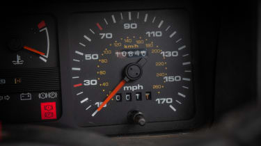 Ford Sierra RS500 Cosworth - speedo