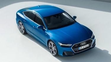 Audi A7 Sportback - above front