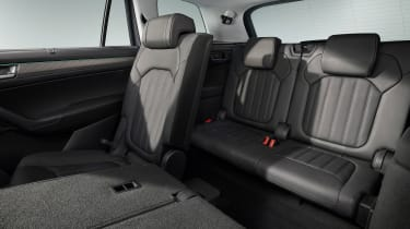 Skoda Kodiaq facelift - back seats
