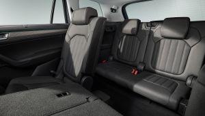 Skoda Kodiaq facelift - back seats