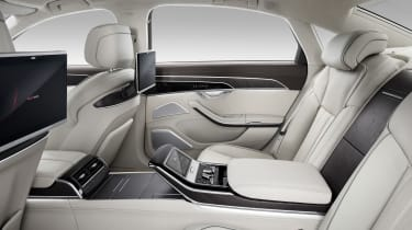 New Audi A8 - A8 L rear seats