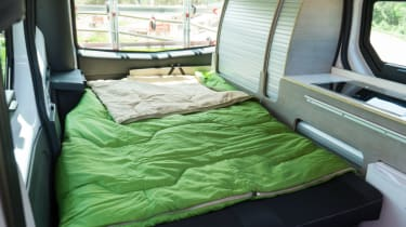 Nissan campervan interior bed