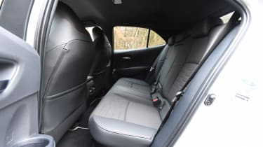 Toyota Corolla - rear seats