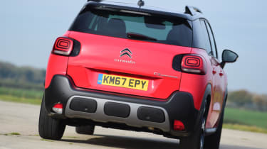 Citroen C3 Aircross - rear cornering