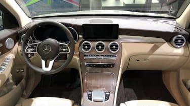 Mercedes GLC 300 e - interior