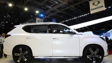 SsangYong LIV-2 side profile
