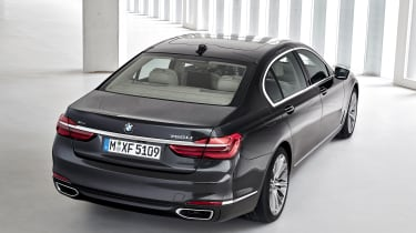 New 2015 BMW 7-Series rear 3/4