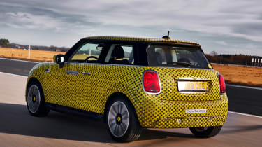 MINI Cooper SE prototype - rear action