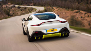 Aston Martin Vantage - rear action