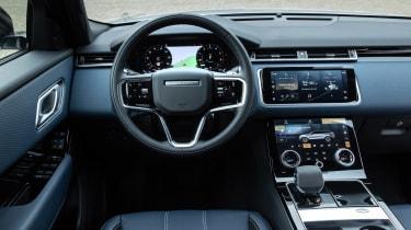 Range Rover Velar P400e - dash