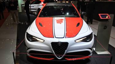 Alfa Romeo Giulia Quadrifoglio F1 Edition - Geneva full front