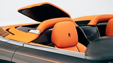 Rolls-Royce Phantom - Dawn Aero Cowling roof down