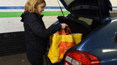 Suzuki Baleno long-term third report - shopping