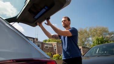 Vauxhall Insignia Sports Tourer - tailgate