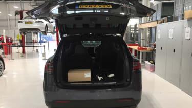 Tesla Model S repair - boot