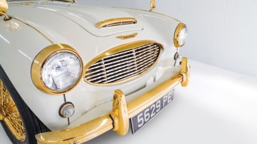 Austin Healey 100-Six - headlights