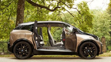 New updated BMW i3 side profile