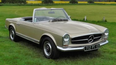 Cool cars: the top 10 coolest cars - Mercedes Pagoda