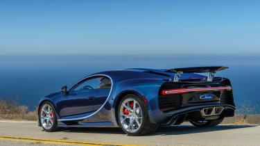 Bugatti Chiron - The Quail rear quarter 2